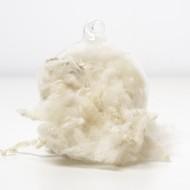 White Wool Curls and Locks 10 Grams