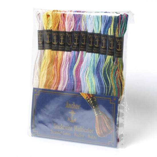 Anchor Sticktwist Variegated Embroidery Thread Multipack