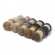 Carded New Zealand Maori Wool Box Set -Animal Hues