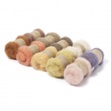 Carded New Zealand Maori Wool Box Set -Natural Hues