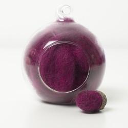 Corriedale Cerise Pink 25g