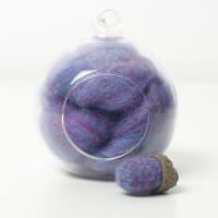 Corriedale Lavender and Blue 25g
