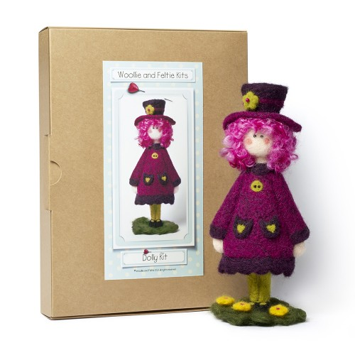 Dolly needle felting kit