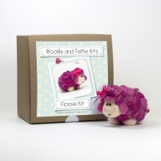 Flossie Sheep needle felting kit