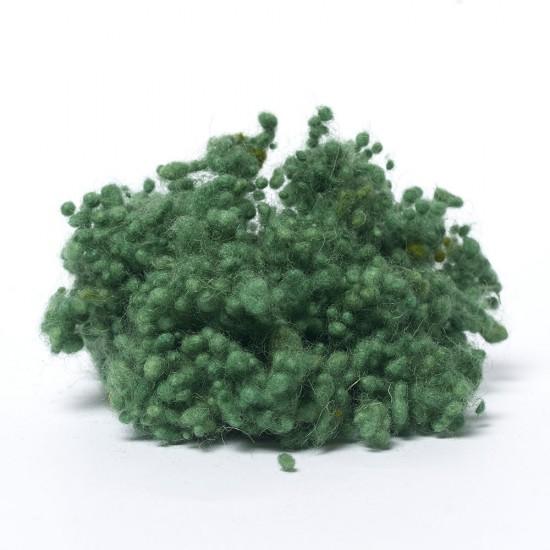 Blue Green Wool Nepps