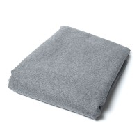 "Highland 100% Wool Fabric Grey 13"" x 13"""