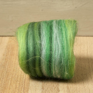 Twinkle Merino Wool Top Apple 25 Grams