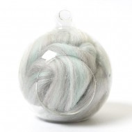 Twinkle Merino Wool Top Fairydust 25 Grams