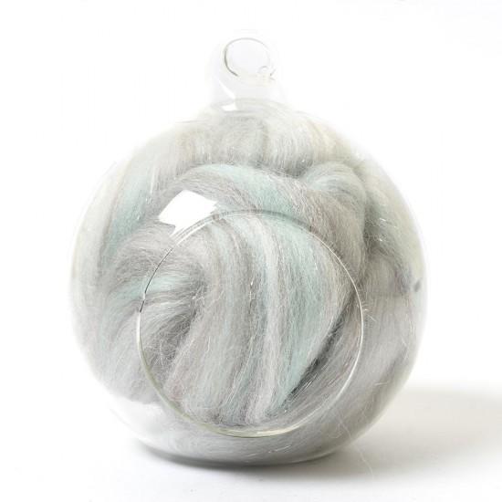 Twinkle Merino Wool Top Fairydust 25 Grams