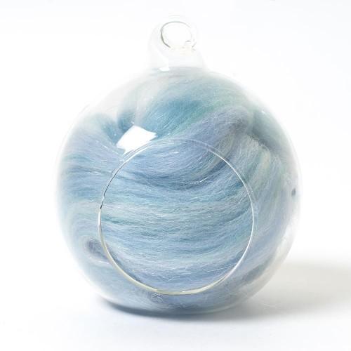 Twinkle Merino Wool Top Frozen 25 Grams