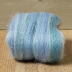 Twinkle Merino Wool Top Frozen 25 Grams