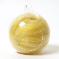 Twinkle Merino Wool Top Gold 25 Grams