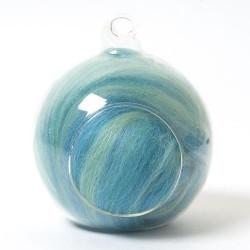 Twinkle Merino Wool Top mermaid 25 Grams
