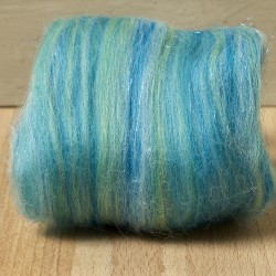 Twinkle Merino Wool Top mermaid 25 Grams