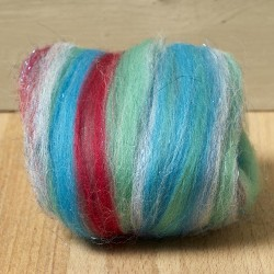 Twinkle Merino Wool Top Ocean 25 Grams