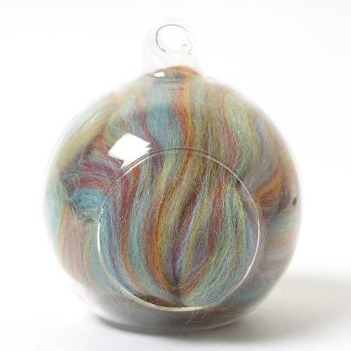 Twinkle Merino Wool Top Rainbow 25 Grams