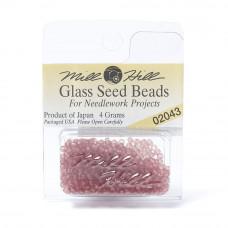 Mill Hill Glass Seed Beads- Matte Pomegranate 02043