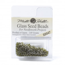 Mill Hill Glass Seed Beads- Soft Willow 02047