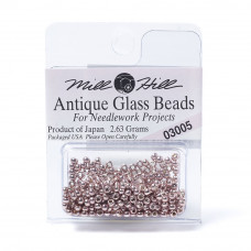 Mill Hill Glass Seed Beads- Platinum Rose Pink 03005