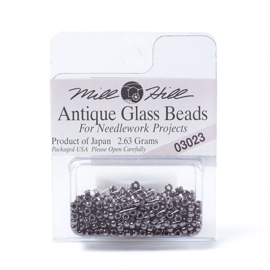 Mill Hill Glass Seed Beads- Platinum Violet 03023