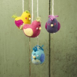 Birdie Mobile Needle Felting Kit