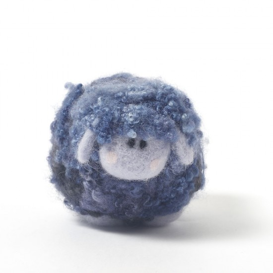 Blueberry ice cream woollie  needle felting kit