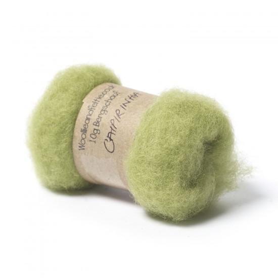 Carded Bergschaf Wool -Caipirinha