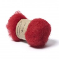 Carded Bergschaf Wool -Passion