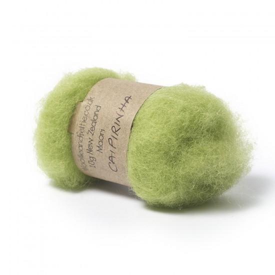 Carded New Zealand Maori Wool -Caipirinha