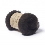 Carded New Zealand Maori Wool -Coffee