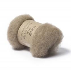 Carded New Zealand Maori Wool -Earth