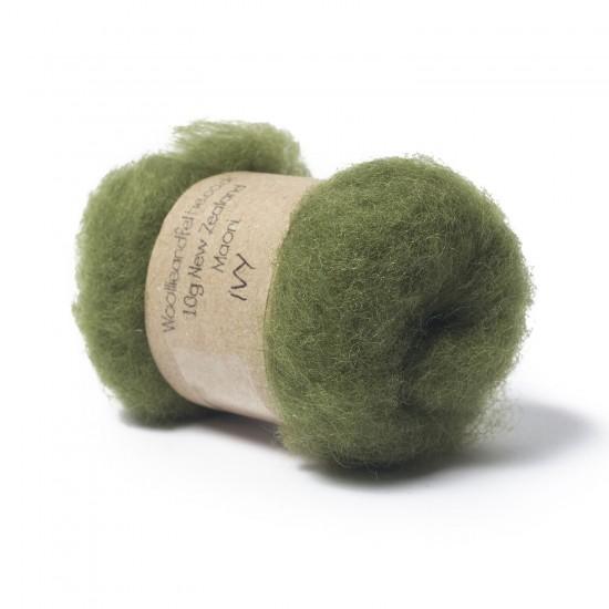 Carded New Zealand Maori Wool -Ivy