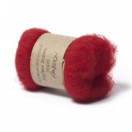 Carded New Zealand Maori Wool -Passion