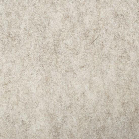 "100% Wool 12"" Square-Beige"
