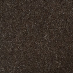 "100% Wool 12"" Square-Brown"
