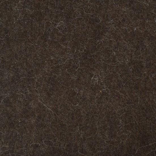 "100% Wool 12"" Square-Brown"