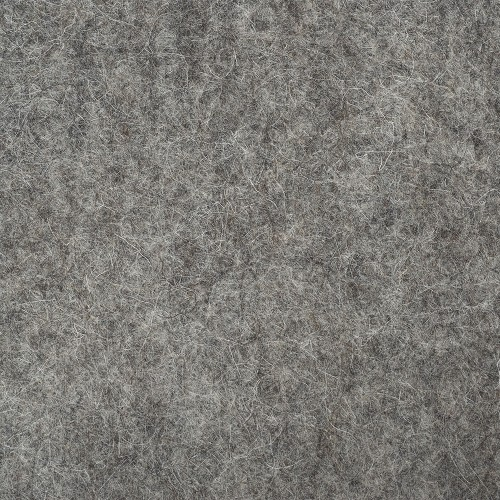 "100% Wool 12"" Square-Dark Grey"