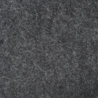 "100% Wool 12"" Square-Light Charcoal"