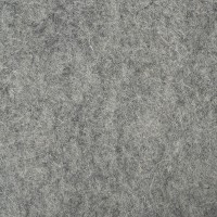 "100% Wool 12"" Square-Medium Grey"