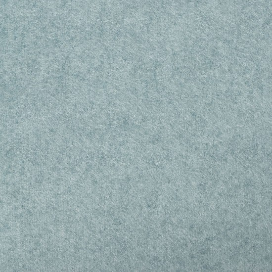 """Wool and Viscose Mix Felt 12"""" Square-Marl Turquoise"""