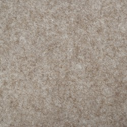 "Wool and Viscose Mix Felt 12"" Square-Marl Fawn"