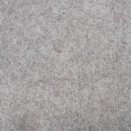"Wool and Viscose Mix Felt 12"" Square-Marl Grey"