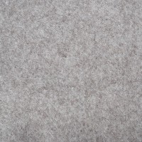 "Wool and Viscose Mix Felt 12"" Square-Grey Flecked"
