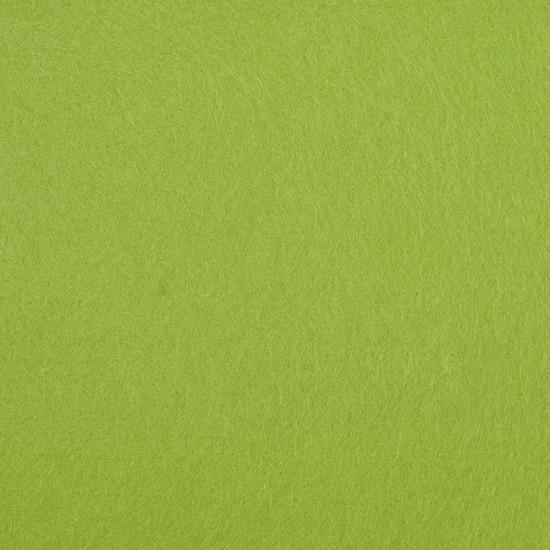 """Wool and Viscose Mix Felt 12"""" Square Leaf Green"""