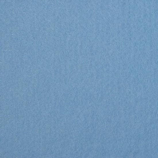 "Wool and Viscose Mix Felt 12"" Square Light Blue"