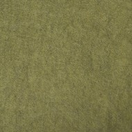 "Wool and Viscose Mix Felt 12"" Square-Marl Moss"