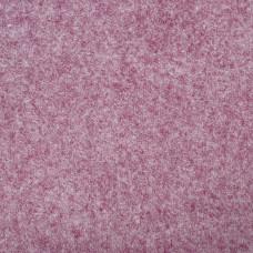 "Wool and Viscose Mix Felt 12"" Square-Pink Flecked"