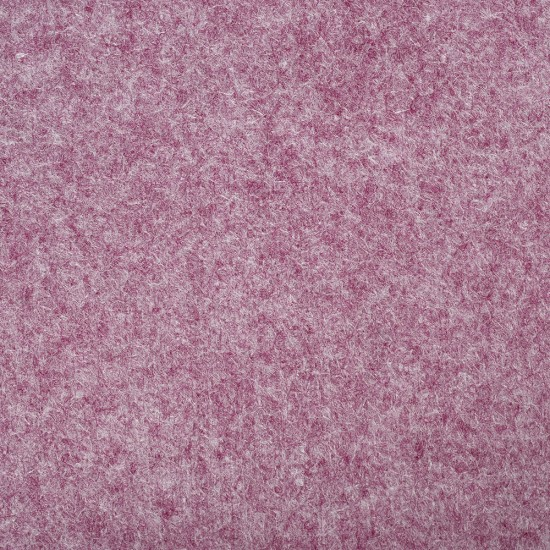 "Wool and Viscose Mix Felt 12"" Square-Marl Fuchsia"