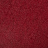 "Wool and Viscose Mix Felt 12"" Square-Marl Red"