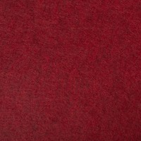 "Wool and Viscose Mix Felt 12"" Square-Red"